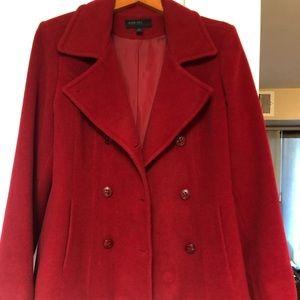 Jason Kole women's red coat size Medium (Macy's)